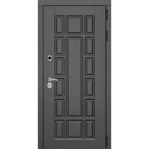 металлическая входная дверь мд 6 под панель цвет венге