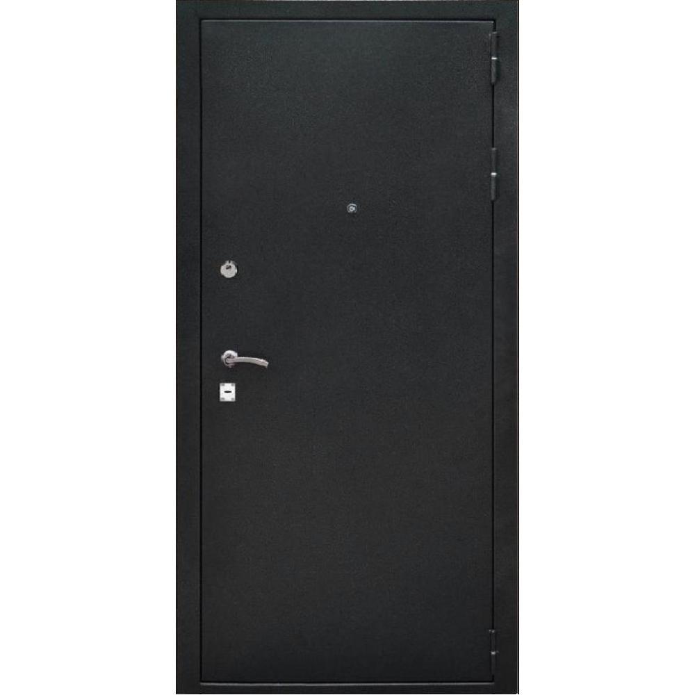 Входная дверь под панель МД 1 Черный антик