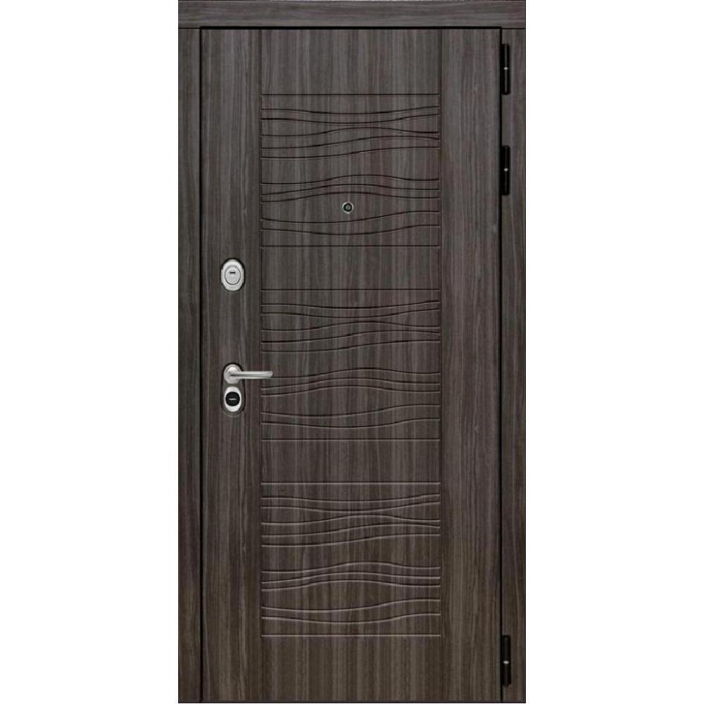 Входная дверь под панель МД 5 Серый