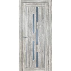 Дверь межкомнатная Profilo Porte  PSL 33 цвет Сан ремо Серый стекло сатинат графит