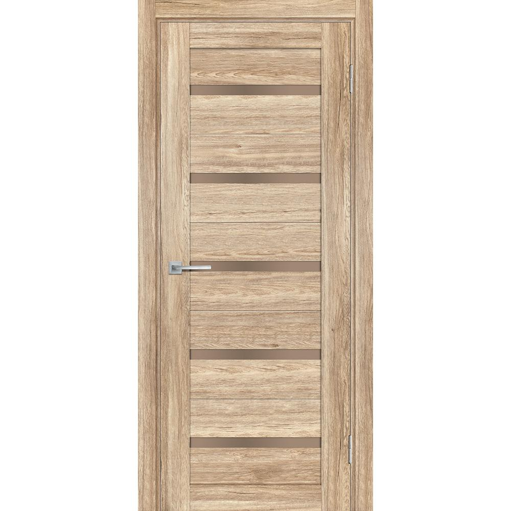 Дверь межкомнатная Profilo Porte  PSL 7 цвет Сан ремо Натуральный