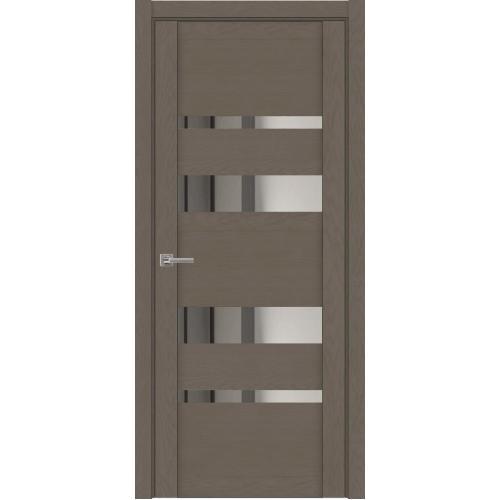 Дверь межкомнатная Uberture 30032 цвет Тортора софт зеркало серебро