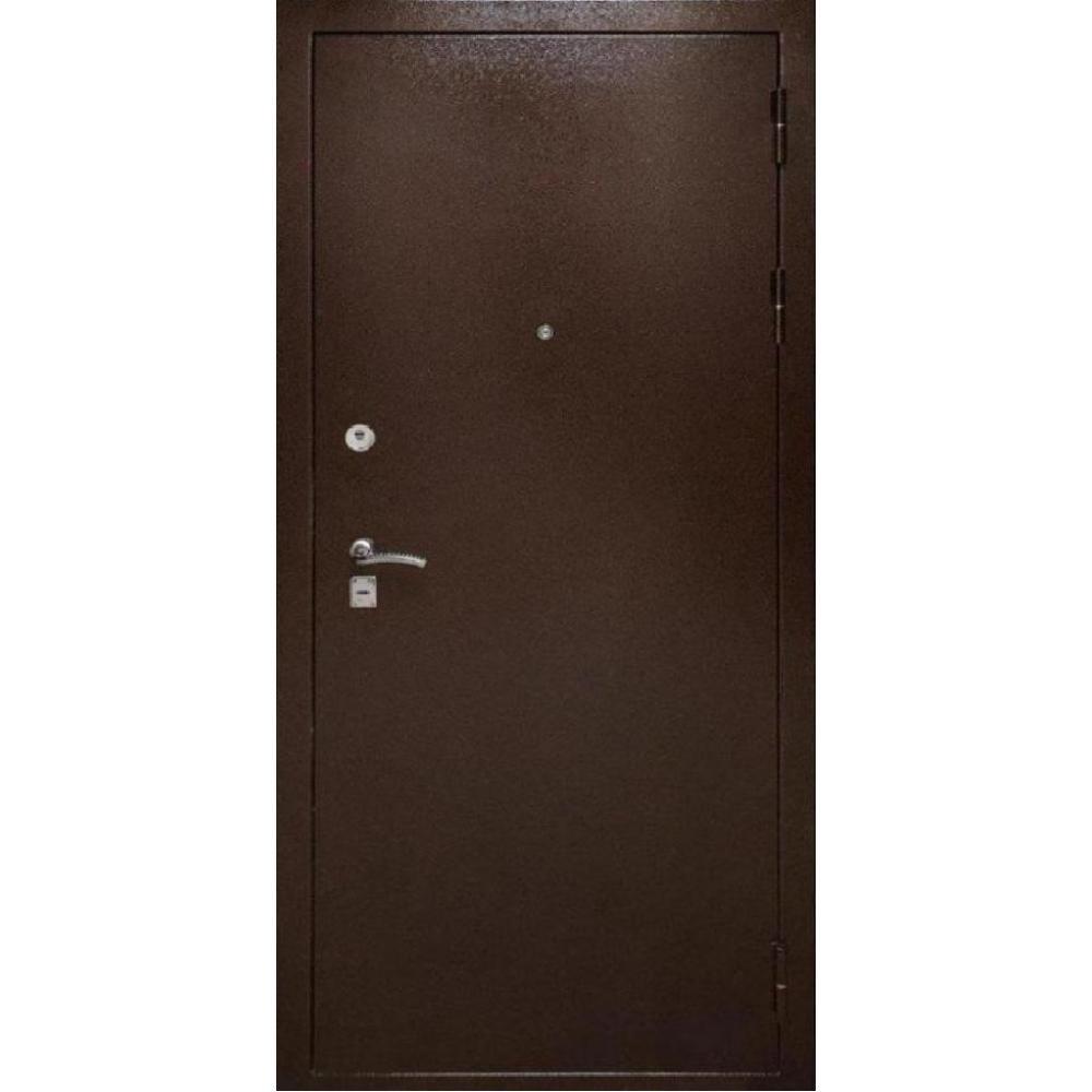 Входная дверь под панель МД 1 Медный антик