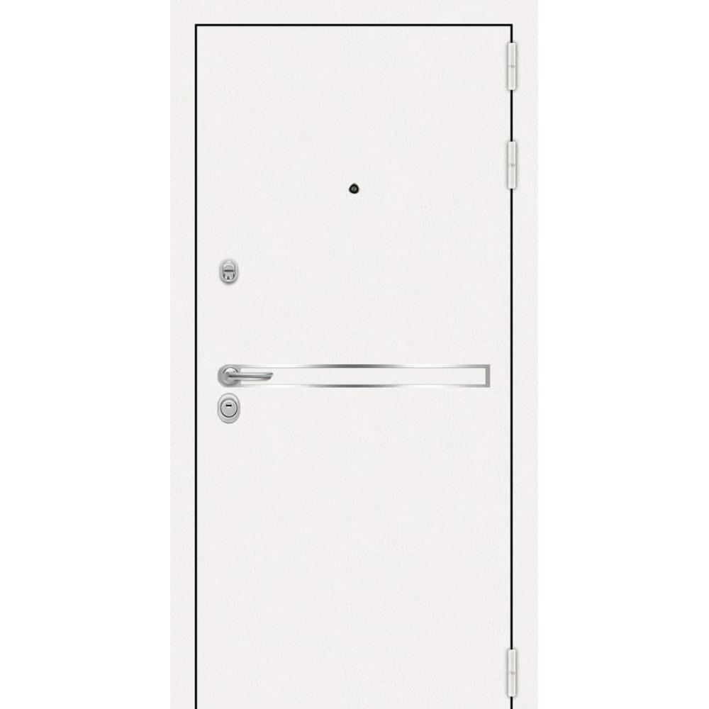 Входная дверь под панель МД 17 Белая